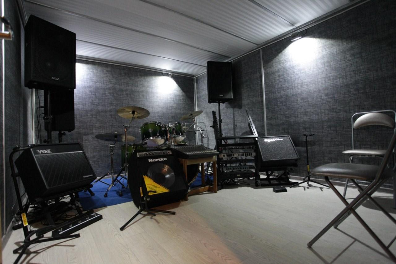 Как из гаража сделать студию звукозаписи